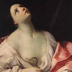 Клеопатра со змеей - Рени Гуидо - 1630