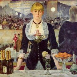 Бар в «Фоли-Бержер» - Эдуард Мане, 1882