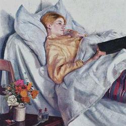bolnaja devochka mihail anker 1882