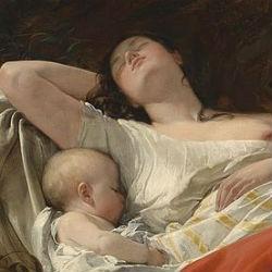 Фридрих фон Эммерлинг - Спящая рыбачка - 1834