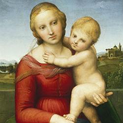 Малая Мадонна Каупера - Рафаэль, 1505