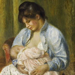 Материнство - Пьер Огюст Ренуар, 1894