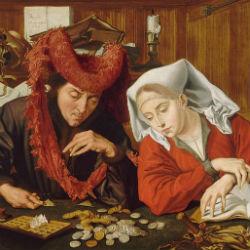 Меняла и его жена - Маринус ван Реймерсвале, 1538