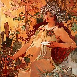 Осень - Альфонс Муха, 1896