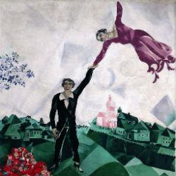 progulka marc shagal 1918
