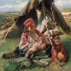 Жница - Константин Маковский, 1871