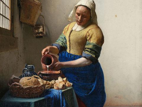 Johannes Vermeer   Het melkmeisje   Google Art Project